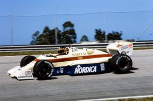 Thierry Boutsen, Arrows A6