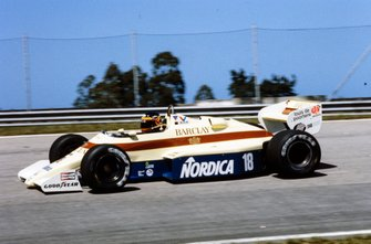 Thierry Boutsen, Arrows A6 Ford