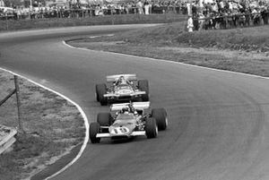 Clay Regazzoni, Ferrari 312B, Chris Amon, March 701