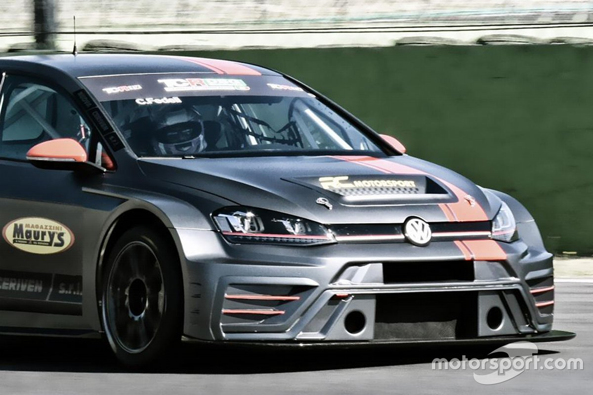 Carlotta Fedeli, RC Motorsport, Volkswagen Golf GTI TCR DSG
