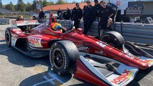 Rinus VeeKay 2019 IndyCar test Mid-Ohio