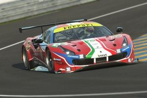 Charles Leclerc and Antonio Giovinazzi, Ferrari 488 GTE
