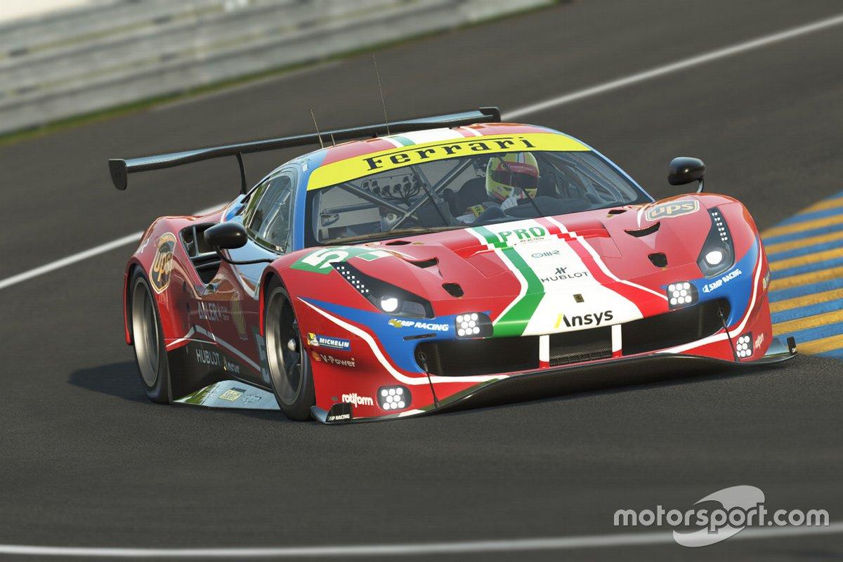 Charles Leclerc e Antonio Giovinazzi, Ferrari GTE