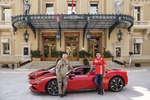 Клод Лелюш и Шарль Леклер, Ferrari