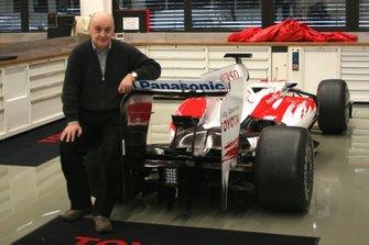 Zoran Stefanovic, with a 2009 Toyota TF109