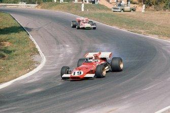 Clay Regazzoni, Ferrari 312B, Chris Amon, March 701 Ford