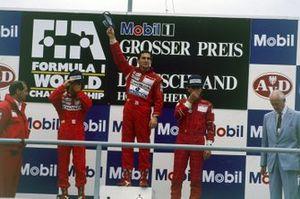 Ayrton Senna, McLaren, Ron Dennis, McLaren, Alain Prost, McLaren, Gerhard Berger, Ferrari