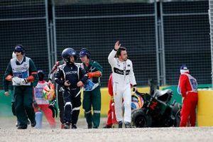 Crash de Fernando Alonso, McLaren MP4-31