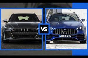 Audi RS6 Avant vs Mercedes-AMG E 63S SW