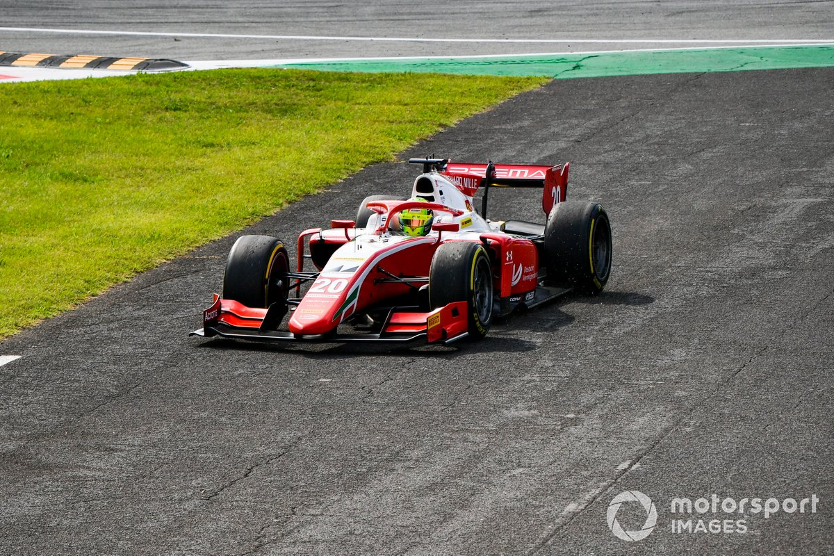 Mick Schumacher, Prema Racing run off