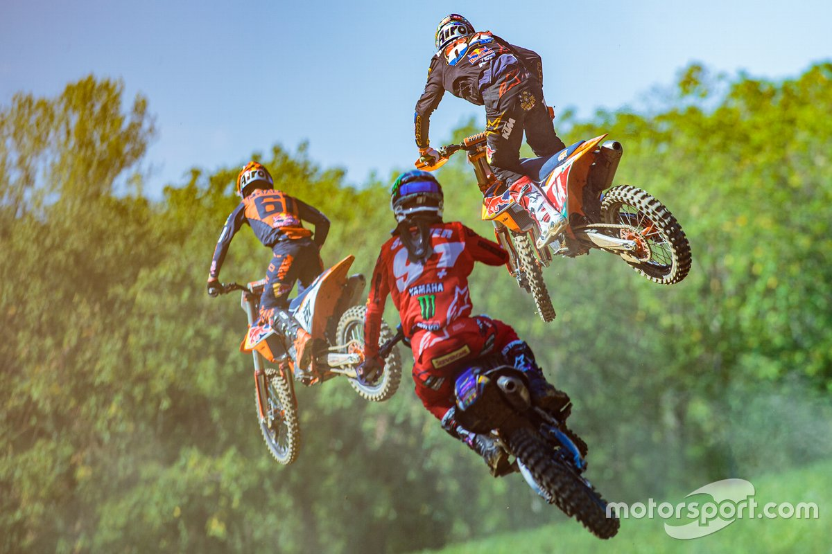 Jorge Prado, Red Bull KTM Factory Racing, Jeremy Seewer, Monster Energy Wilvo Yamaha Factory Racing y Jeffrey Herlings, Red Bull KTM Factory Racing