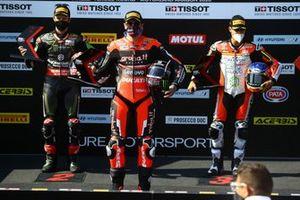 Jonathan Rea, Kawasaki Racing Team, Scott Redding, Aruba.it Racing Ducati, Michael Ruben Rinaldi, Team Goeleven