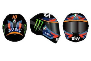 Sky Racing Team VR46 helmet livery