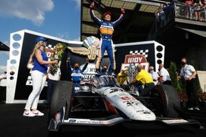 Indy 500 Race Winner Takuma Sato, Rahal Letterman Lanigan Racing Honda