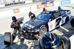 Josh Bilicki, Tommy Baldwin Racing, Chevrolet Camaro Insurance King pit stop