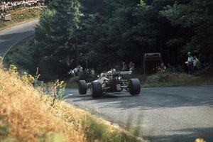 Renn-Action beim GP Deutschland 1969 auf der Nürburgring-Nordschleife