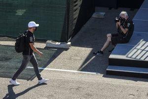 Valtteri Bottas, Mercedes-AMG F1 arrives
