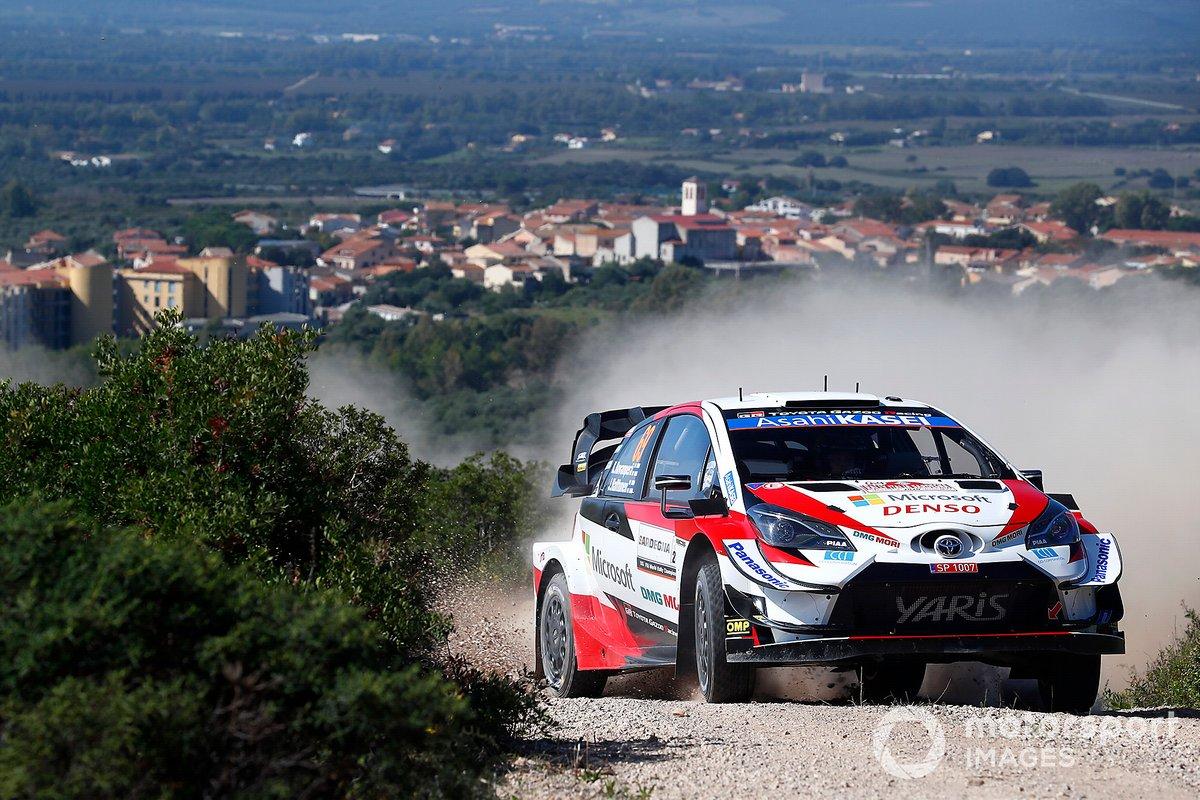 Kalle Rovanperä, Jonne Halttunen, Toyota Gazoo Racing WRT Toyota Yaris WRC WRC