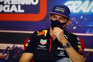 Max Verstappen, Red Bull Racing in conferenza stampa