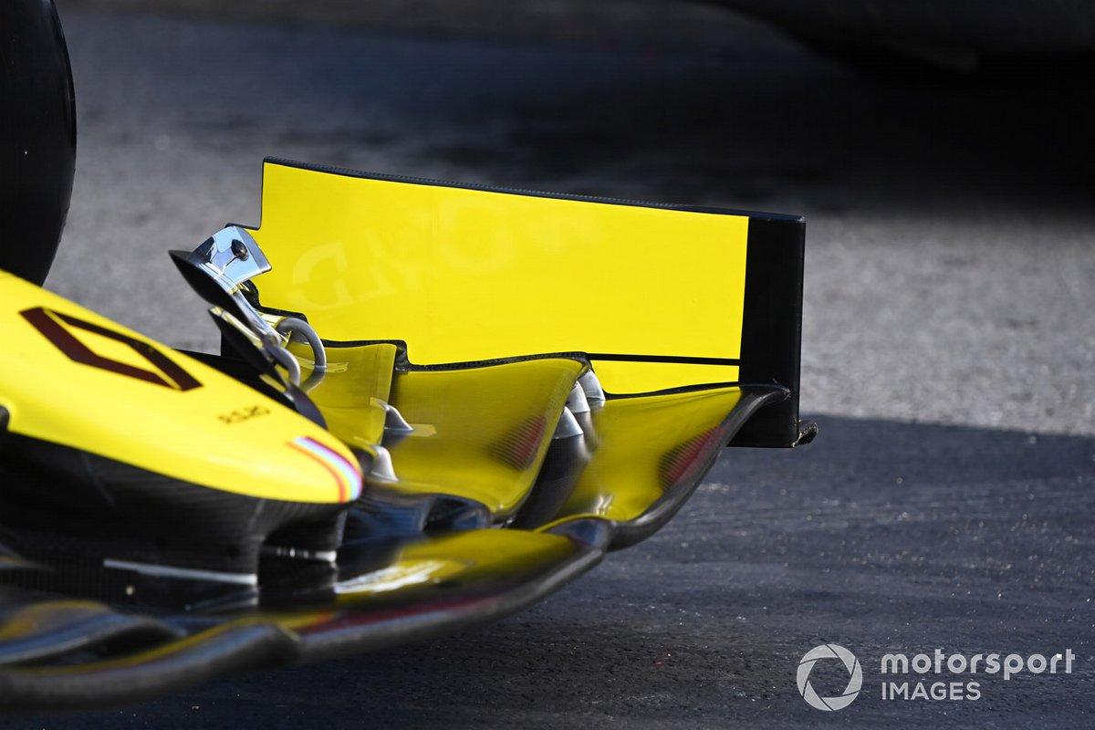 Renault R.S.20: Frontflügel