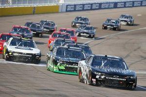 Josh Williams, DGM Racing, Chevrolet Camaro Sleep Well/Silverton Casino, Jeffrey Earnhardt, JD Motorsports, Chevrolet Camaro Forever Lawn