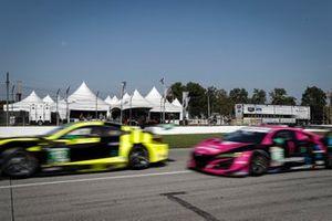 #12 AIM Vasser Sullivan Lexus RC-F GT3, GTD: Frankie Montecalvo, Townsend Bell, #86 Meyer Shank Racing w/Curb-Agajanian Acura NSX GT3, GTD: Mario Farnbacher, Matt McMurry, Paddock Club
