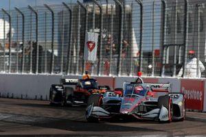 Will Power, Team Penske Chevrolet, Patricio O'Ward, Arrow McLaren SP Chevrolet