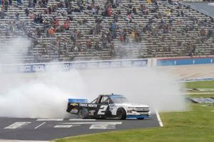Sheldon Creed, GMS Racing, Chevrolet Silverado Chevy Truck Month celebrates his victory