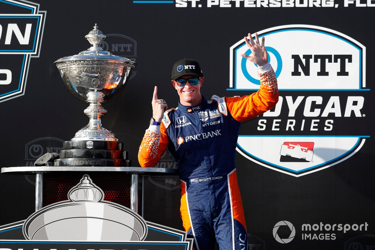Campeón Scott Dixon, Chip Ganassi Racing Honda