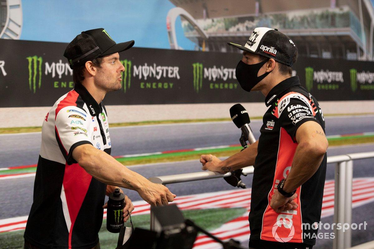 Cal Crutchlow, Team LCR Honda, Aleix Espargaró, Aprilia Racing Team Gresini