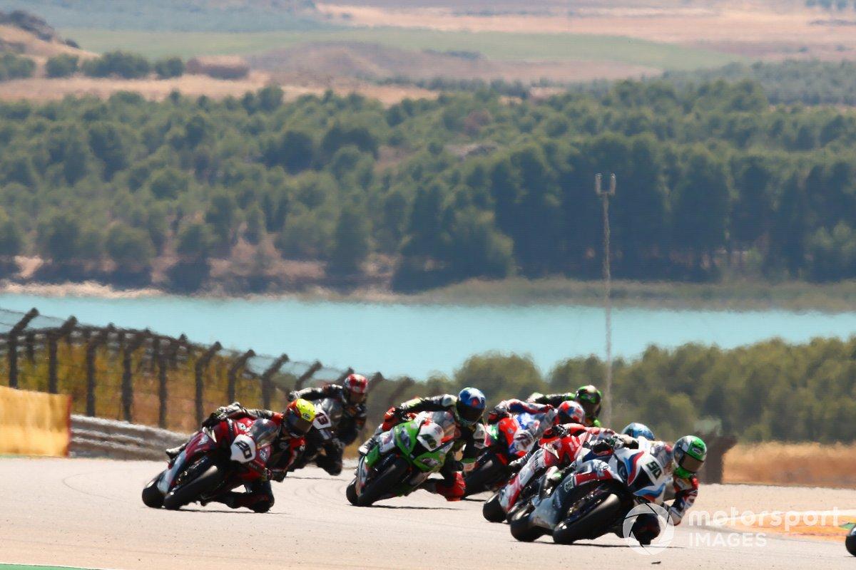 Eugene Laverty, BMW Motorrad WorldSBK Team, Marco Melandri, Sylvain Barrier, Brixx Performance