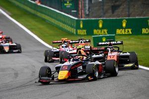 Liam Lawson, Hitech Grand Prix e Richard Verschoor, MP Motorsport