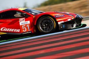 #51 AF Corse Ferrari F488 GTE EVO: Christoph Ulrich, Steffen Görig, Daniel Serra