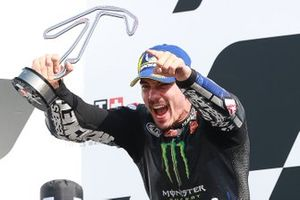 Race winner Maverick Vinales, Yamaha Factory Racing
