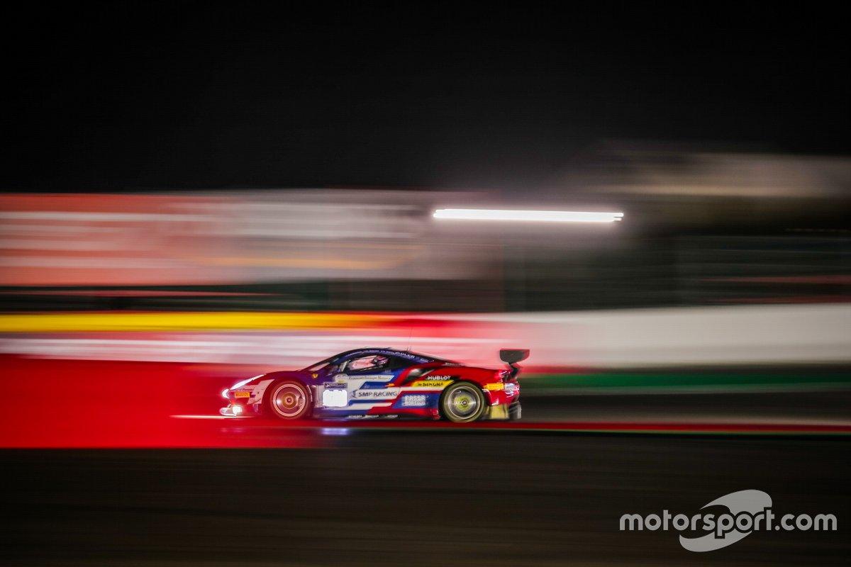 #72 SMP Racing Ferrari 488 GT3: Miguel Molina, Davide Rigon, Sergey Sirotkin