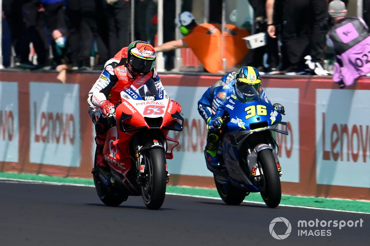 Francesco Bagnaia, Pramac Racing, Joan Mir, Team Suzuki MotoGP