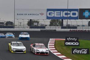 Harrison Burton, Joe Gibbs Racing, Toyota Supra DEX Imaging, Alex Labbe, DGM Racing, Chevrolet Camaro Can-Am