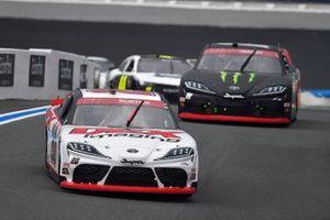 Harrison Burton, Joe Gibbs Racing, Toyota Supra DEX Imaging, Riley Herbst, Joe Gibbs Racing, Toyota Supra Monster Energy