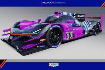 2021 Acura ARX-05 Meyer Shank Racing
