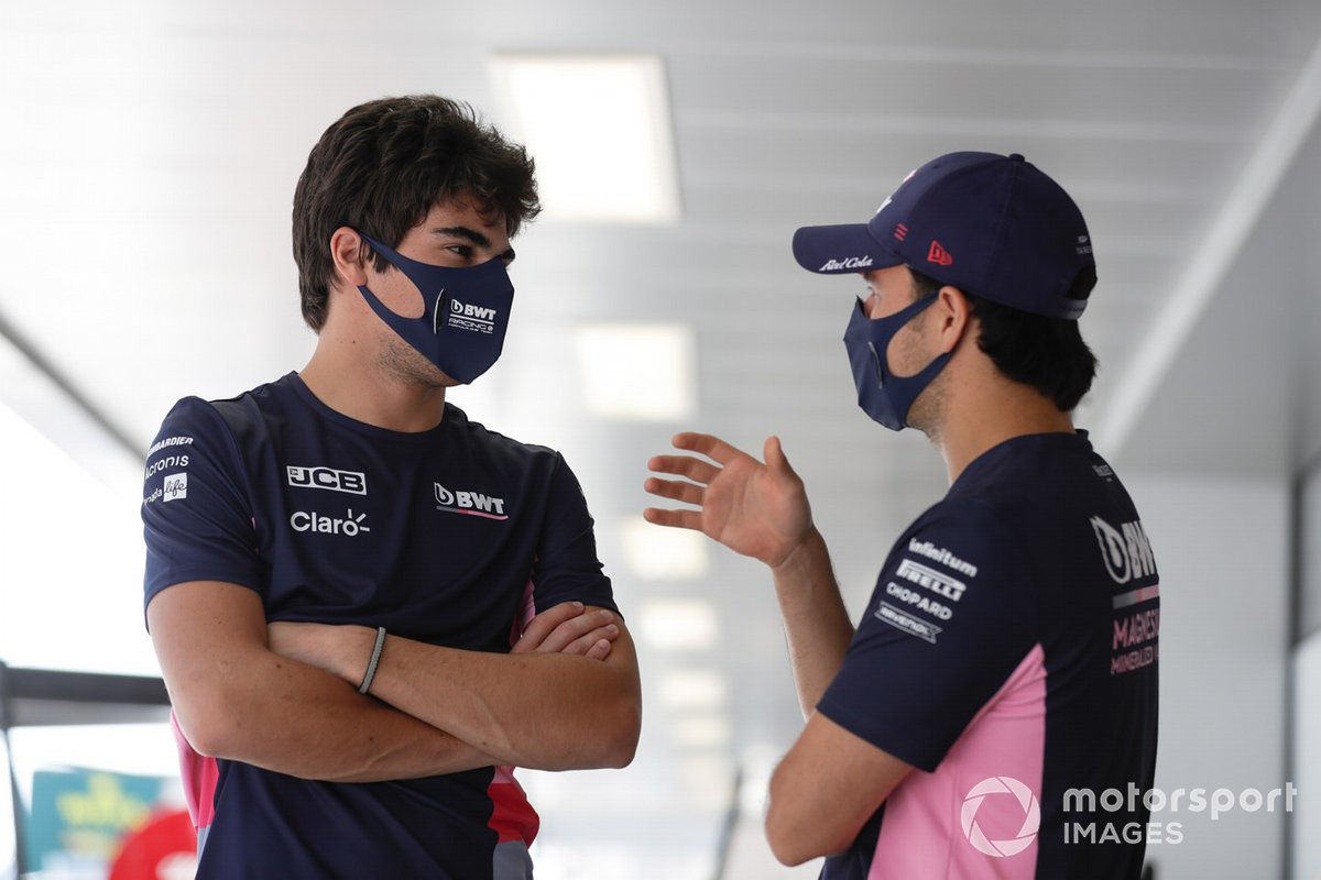 Lance Stroll, Racing Point, Sergio Pérez, Racing Point