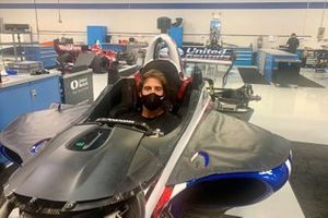 Antonio Felix da Costa visits the Rahal Letterman Lanigan race shop