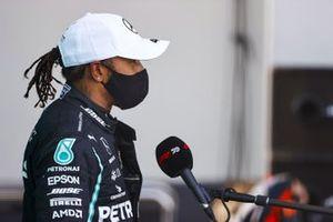 Second place Lewis Hamilton, Mercedes F1