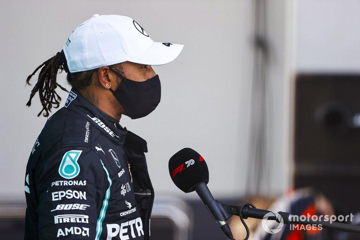 Segundo Lewis Hamilton, Mercedes F1
