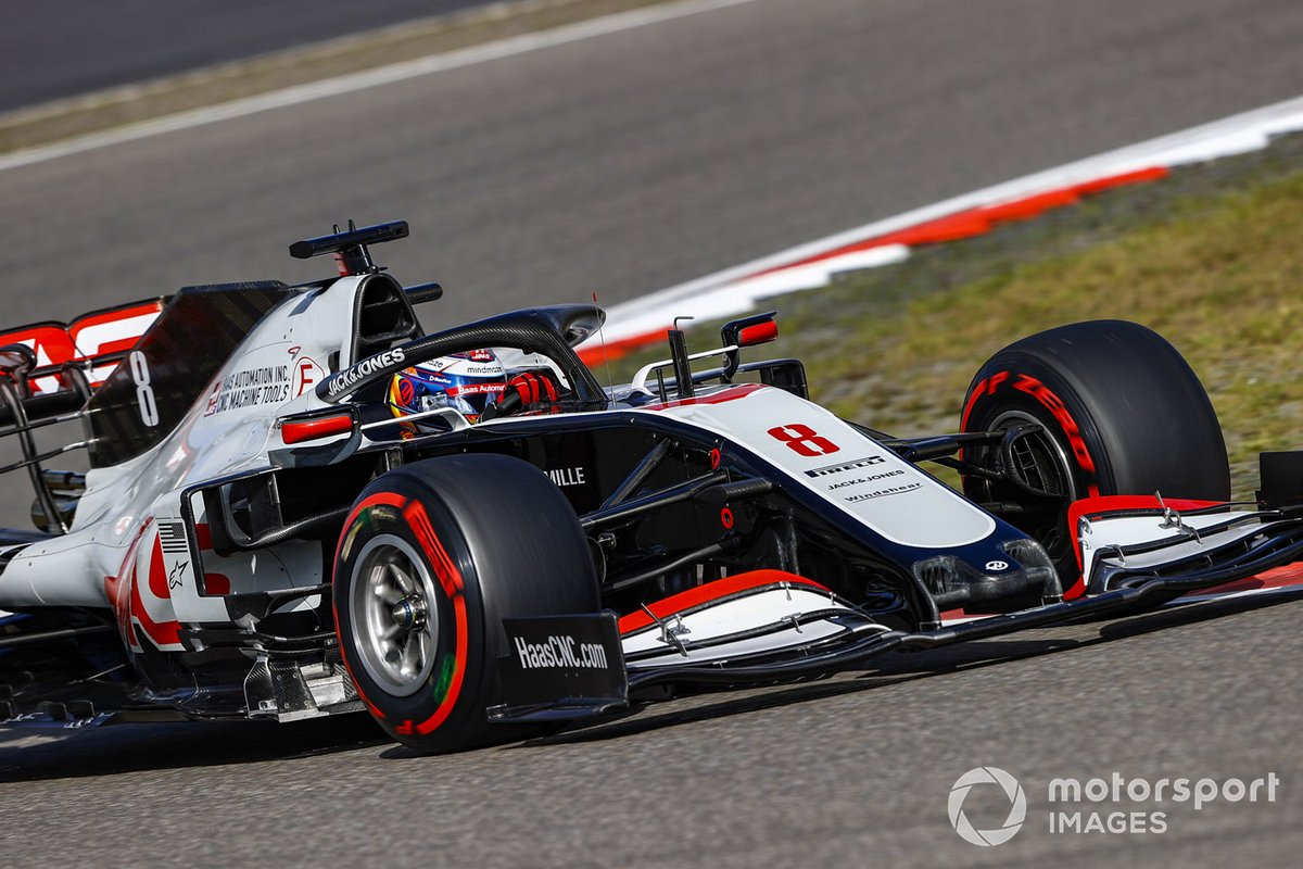 Romain Grosjean, Haas VF-20