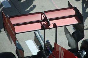 Ferrari SF1000, dettaglio dell'ala posteriore