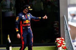 Max Verstappen, Red Bull Racing, 3° posto, sul podio