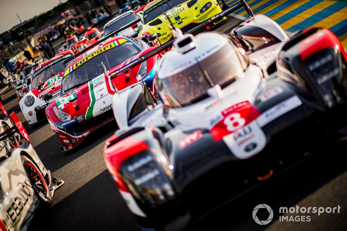 #8 Toyota Gazoo Racing Toyota TS050: Sebastien Buemi, Kazuki Nakajima, Brendon Hartley,