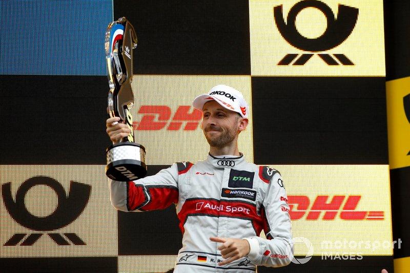 Podio: tercer puesto René Rast, Audi Sport Team Rosberg