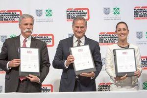 Firma del contrato GP de México