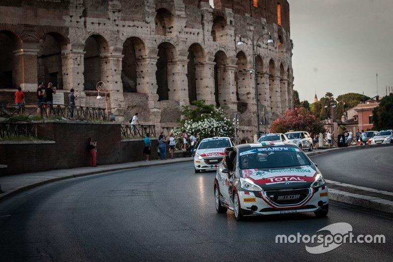 Giacomo Guglielmini, Simone Giorgio, Peugeot 208 R2, Maranello Corse SSd